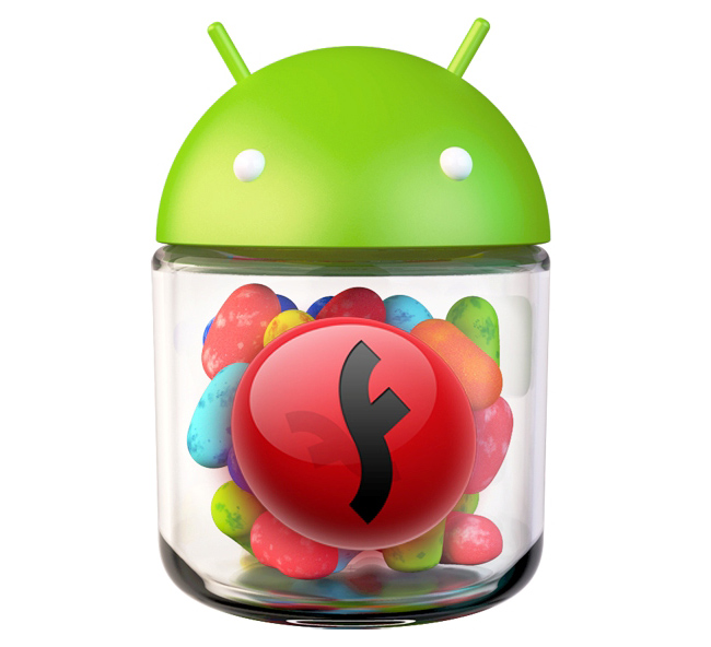 Встановлення Adobe Flash Player на Android 4.1 Jelly Bean
